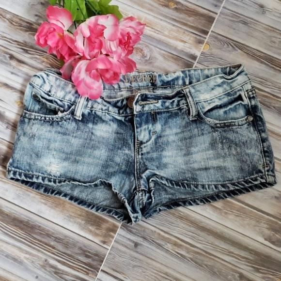 6907f18f7d Decree Shorts   Blue Denim Wash   Poshmark